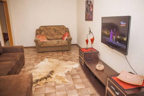 Сдается 2-комнатная квартира посуточно в Междуреченске, ул. Вокзальная, 52.
