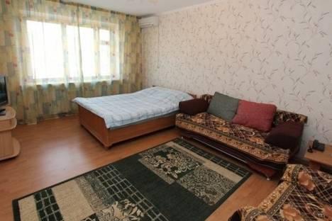 Сдается 1-комнатная квартира посуточно в Алматы, Пушкина улица, д. 50.