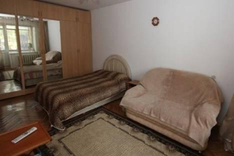 Сдается 1-комнатная квартира посуточно в Алматы, Панфилова улица, д. 151.