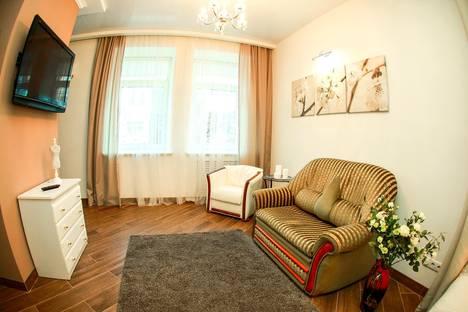 Сдается 1-комнатная квартира посуточно в Могилёве, Комсомольская улица, д. 10, корп. 14.