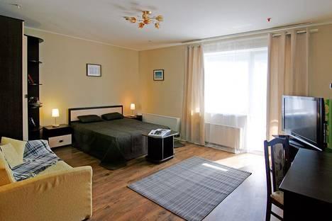 Сдается 1-комнатная квартира посуточнов Перми, Бульвар Гагарина, 65а, этаж 9.