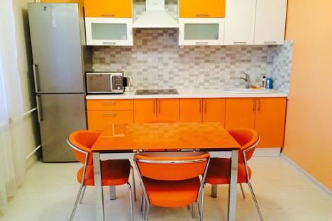 Сдается 1-комнатная квартира посуточнов Пушкино, микрорайон Серебрянка, 48.