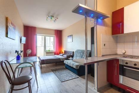 Сдается 1-комнатная квартира посуточнов Колпино, проспект Наставников, 43.